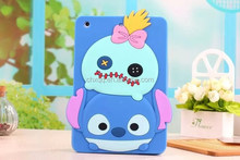 New Arrival Tablet Case For Apple iPad Air 2/ iPad 6 Stitch Soft Silicone Case EVA tablet back cover