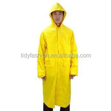 Adult Plastic Custom PVC Rain Coat