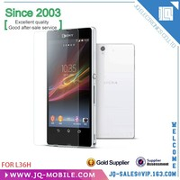 Manufacturers 9h milo tempered glass screen protector for Sony Xperia Z L36H