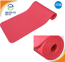 Gymnastics 2-tone Colors custom label extra thick yoga mat rubber