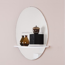 Discounted Antique New Fashion Wrough Iron Frame Decorative Wall Mirror For Home