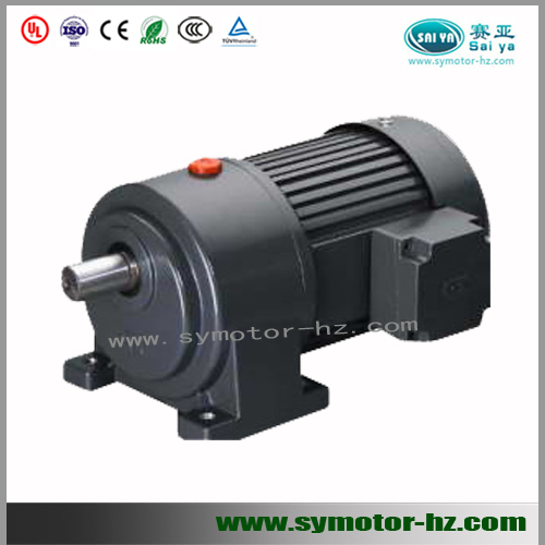 3 Phase Horizonal Type Small Ac Gear Motors With High