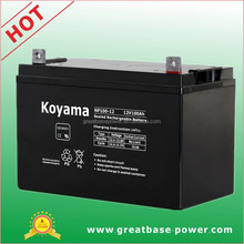 Made in China NP100-12 12V 100Ah UPS Sealed Lead Acid Battery