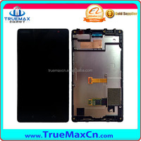 LCD screen for nokia x2, for Nokia x2 touch digitizer screen with frame