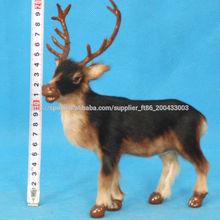 plástico miniatura renos figura de juguete