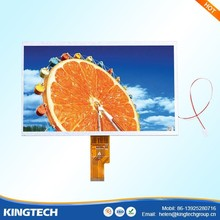 "for tablet 10.1""capacitive lvds touch screen 1024x600 lcd panel"