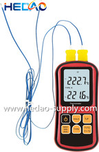 Digital thermocouple thermometer HD1312 Measuring the thermocouple of J.K.T.E.N