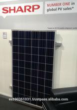 Placas Solares policristalinas Sharp Solar 245w maxima calidad hechas en Japon placa solar 245w poly