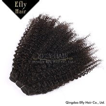 Aliexpress Factory Price Human Can Be Dyed&Ironed Unprocessed Crochet Braids Virgin Mongolian Kinky Curly Hair Weave 4a