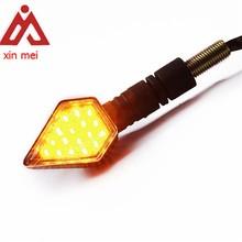LED Mini Turn Signal LED Indicator Light for Motorcycle Motorbike