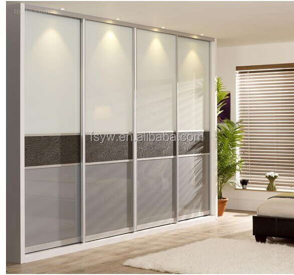 Sliding bedroom doors for Portes de placard coulissantes miroir