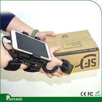 Wearable mobile phone case with 3000 mA mobile power for IOS Android Qr Code Scanner