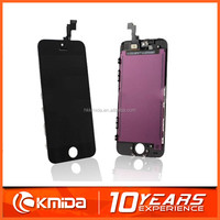 Smartphone high quality lcd digitizer for iphone 5S lcd with assembly