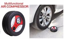 HF-1024(04) 2015 New arrival DC12V Mini car air compressor Car bike tyre inflator air pump Portable air compressor pump