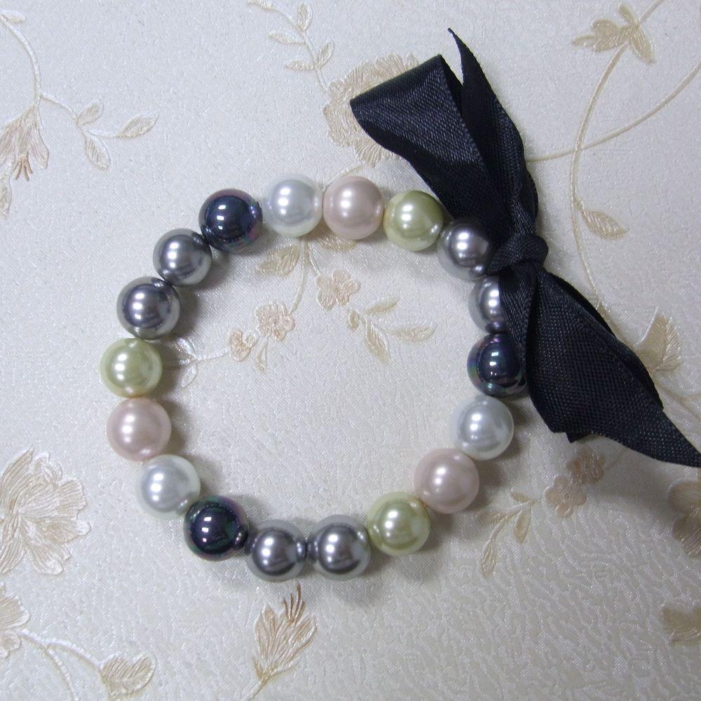 pearl bracelet with bowknot ribbon.jpg