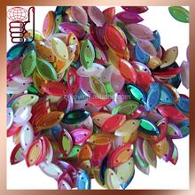 Wholesale bulk mixed colorful sequins paillettes for garment decorations (SEQ)