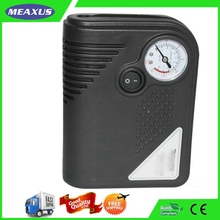 Top quality new arrival car air compressor with pressure gage