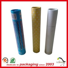 aluminium cosmetic tube eye cream packaging paper tube lip gloss tube round shaped cardboard box mini size manufactuer