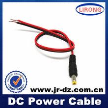 evaluado lirong empresa cctv dc cable de extensión