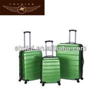 trolley abs luggage travel plastic hard case trolley bag