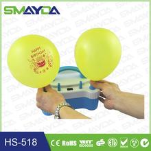 2015 fornecimento de fábrica CE CTICK ROHS inflador de balão elétrica bomba de ar