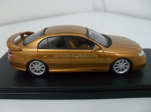 1:43 scale oem champagne with WING resin car models toy