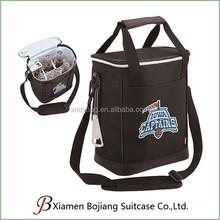 Portable Bottle Cooler Bag 6 cans, insulated Beer Cooler bag