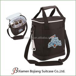 Portable Bottle Cooler Bag 6 cans, insulated Beer Cooler bag