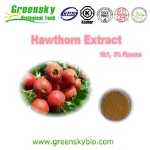 Natural plant chinese hawthorn berry extract (2% Flavonoids&flavone)