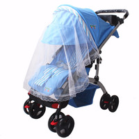 1pc New Arrival Baby Pram Pushchair Mosquito Net Fly Midge Insect Bug Cover Stroller Safe Infants Protector Mesh