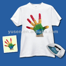 Quality Audited Premium Quality Factory sale directly low price light color heat transfer paper