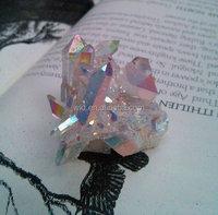 WT-G072 Gorgeous Angel Opal Aura Spirit Quartz, Spiritual crystal quartz cluster