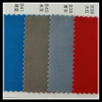blue red orange twill waterproof roofing fabric TC cloth