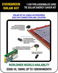 GREEN ENERGY NO POLLUTION HOME ROOF SOLAR KIT,SOLAR ENERGY HOME APPLIANCES GRID TIE ALL INCLUDED KIT, NEW KIT PHOTOVOLTAIC PANEL