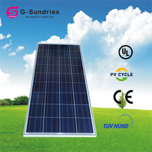 Fine workmanship best price polycrystalline 150w solar panel solar cell in