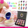 #40267J 2015 Newest fashion Nail art hot sell canni professional acrylic jelly gel nail kit