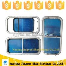 Marine/boat aluminum weathertight double sliding window for ship