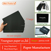 black liner paper board /black paper/paper bag design