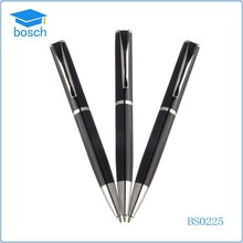 Promotional Novelty metal tips 0.7mm fat metal pen beautiful ink pens
