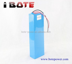 High quality rechargeable LiFePO4 24V 20AH battery for lawn mower / ebike / scooter