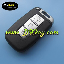 Best Price 3 buttons smart key shell TOY49 emergency key for hyundai remtoe key smart key for hyundai