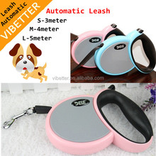 Paw embossed retractable Dog leash