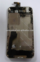 Middle chassis with small parts for iphone 4 assembly