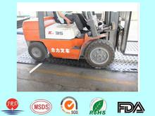 Heavy duty plastic construction road mats/temporary roadways