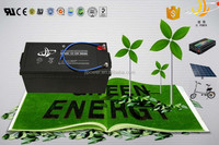 power storage battery 12v 200ah wind generator battery for green energy with long life
