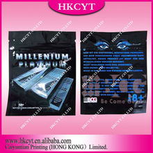 The latest product for hot selling!!!Millenium platinum small zipper bag for herbal incense packaging