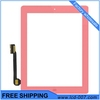 Touch&Home Button for iPad 3 iPad 4 Pink