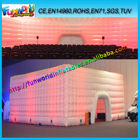 2015 Funworld Superior Quality Sewing large inflatable tent ,inflatable party tent for sale
