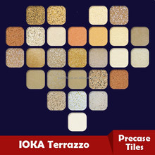 china cheap terrazzo floor tiles with concrete paving stone