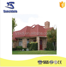 colorful round fiberglass asphalt roofing tiles